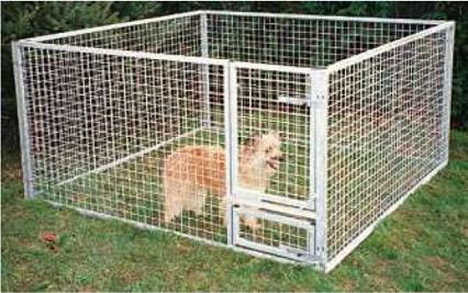 hvalpegård til salg hundegård