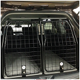 dobbelt alu-hundebur transport